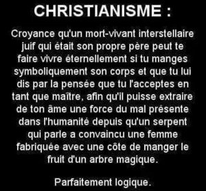 DEFINITION CHRISTIANISME